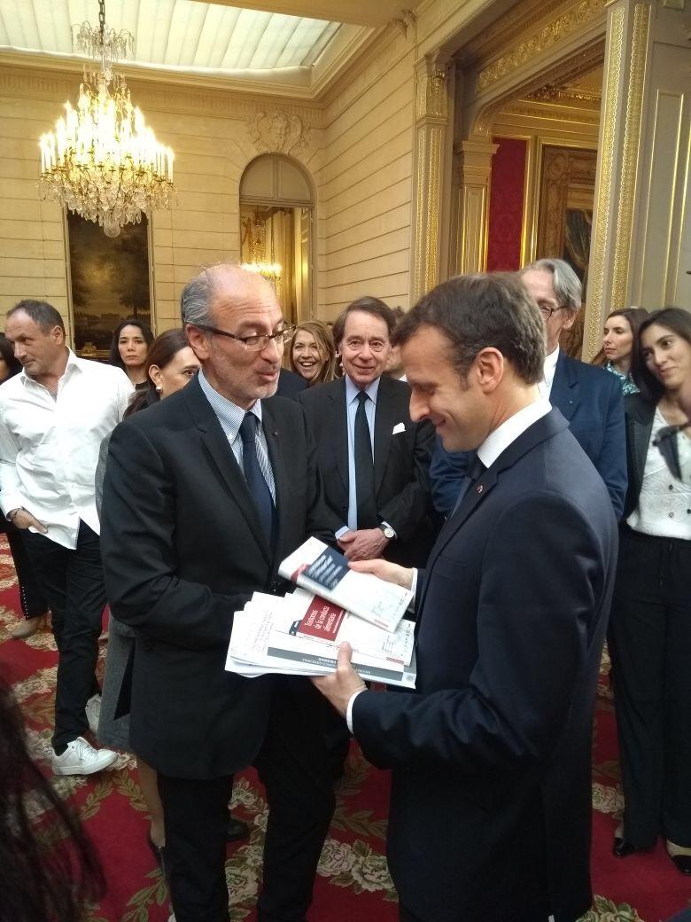 Barriguete et Macron