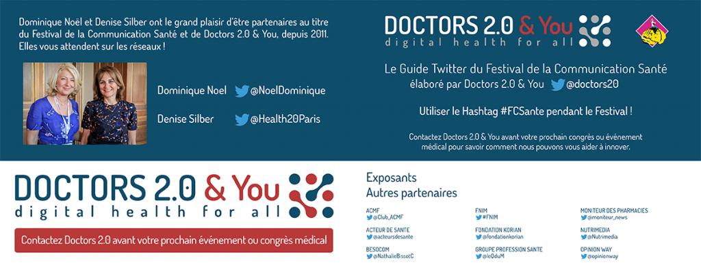 guide twitter doctors 2.0 pour fcsante