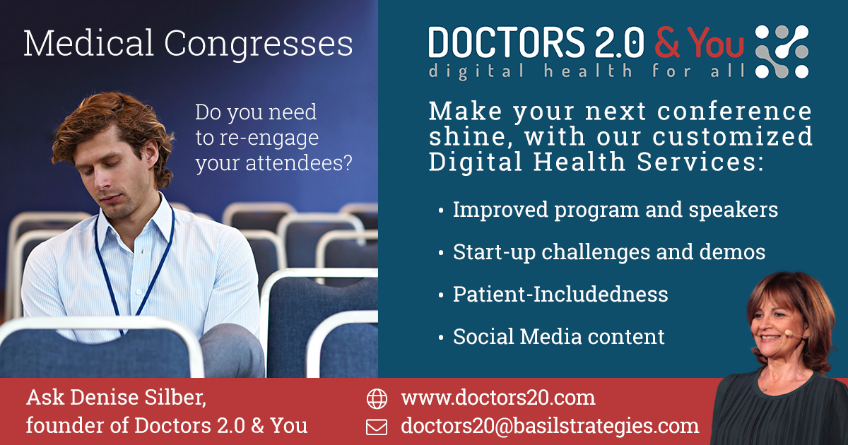 New: Customized Digital Health Event Services from Doctors