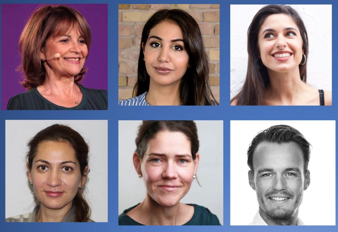 Denise Silber, Hila Azadzoy, Raquel Correia, Larysa Kryuchokova, Anne Seubert, Benjamin Suhr